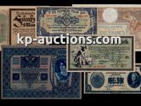 KP-AUCTIONS pravidelné aukcie papierových platidiel z celého sveta