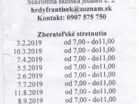 Burza Prievidza 2019
