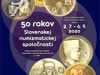 Výstava pobočkových medailí - Východoslovenské Múzeum v Košiciach - 50 rokov Slovenskej numizmatickej spoločnosti