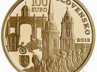 Zlata 100 Euro  2012  - Slovensko