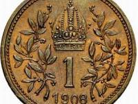 1 koruna 1908 Rakusko -Uhorsko