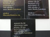 "Medaily a Žetóny ""Minca Burzy mincí 2011-2014"""