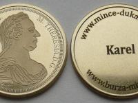 Súkromná razba medailí Márie Terézie