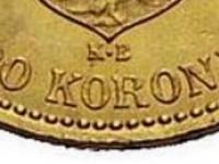 Otvorené A na 10 a 20 korune a kontramarky
