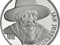 Zberateľská minca 10€ Ján Jessenius