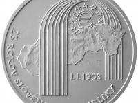 25 eur k 25. výročiu vzniku Slovenskej republiky