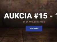 15.-16. aukcia Macho & Chlapovič - 20. apríl 2018 - Praha - KATALÓGY NA STAHNUTIE!!!