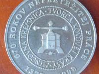 Medzinárodné numizmatické sympózium  Svit 1998