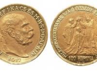 100 koruna 2017