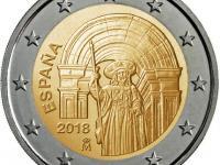 Pamätne mince Španielsko 2018