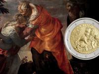 San Marino 2 euro 2018 Tintoretto