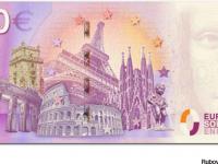 Rubová strana 0 euro souvenir