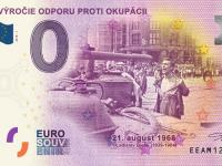 0 Euro Souvenir 50. VÝROČIE ODPORU PROTI OKUPÁCII