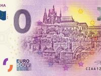 Na euro suvenírovej bankovke už aj Praha