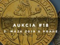 18. a 19. aukcia Macho & Chlapovič - 3.-5. mája 2019 - Praha - KATALÓGY na stiahnutie!