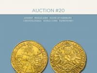 20. a 21. aukcia Macho & Chlapovič - 22. - 23. novembra 2019 - Praha - KATALÓGY na stiahnutie!