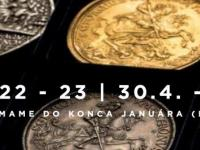 22. a 23. aukcia Macho & Chlapovič - 30. apríla - 5. mája 2020 KATALÓGY NA STIAHNUTIE!