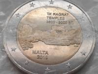 Ta' Ħaġrat - UNC minca z rolky bez značky