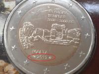 Ta' Ħaġrat – minca z mincovej karty s francúzskou značkou mincovne