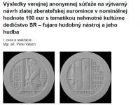 Au 100 € Nehmotne kultúrne dedičstvo - Fujara 2021