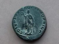 Určenie rímskej mince