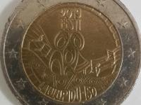 2 eurová minca ,,Estónsko 2019,,