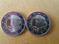 2 € Štefánik matný portrét