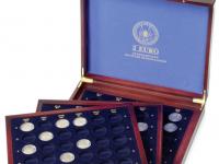 Drevený box na pamätné 2 € mince - Nemecko 2006-2021