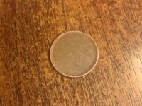 """""""minca"""" vo veľkosti 0,05 centov"""