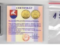1 Širocký sokol UNC s certifikátom