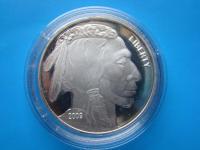 USA-American-Buffalo 2009 1-Oz-Striebro