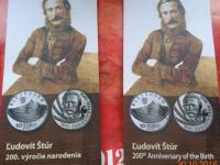 Letáky k  pamätným 10€
