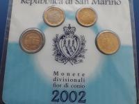 San Marino 2002 ccard - fľak na 1e