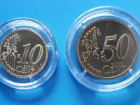 Monaco 10c+50c 2004 PROOF