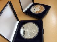Pamätná strieborná minca v hodnote 500 Sk Ochrana prírody a krajiny - Národný park Malá Fatra