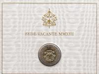 2 euro Vatikan sede vacante 2013