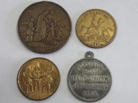 medailóny, žetóny staršie