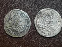 2 kusy poltura Leopold I. NB