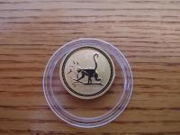 1/4 Oz zlatá minca 999,9 Au, Opica 2004, Lunar I