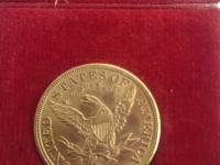 Predam gold 5 dollar 1902