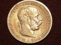Predám jednokorunu 1895 bz
