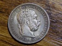Predám peknú 1 korunu 1899 bz