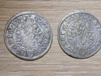 Vymením VI grajciare Leopolda I. 1670 KB a 1673 KB za iné v podobných stavoch