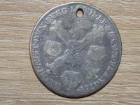 Predám štvrťtoliar Jozefa II. 1788 B