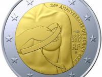 2 Euro Francúzsko 2017 - Boj proti rakovine prsníka - UNC