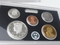 USA mince - sada 2011 PROOF + Half Dollar 1893 + Ag Dollar 1971 S