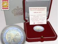 2€ Monaco 2017 200. výročie založenia karabinierov