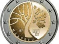 2€ Portugalsko 150. výročie narodenia Raúla Brandãa
