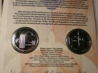 PL k 25 euro Slovensko - 25. výročie vzniku SR - s opravou