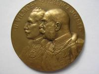 AE medaila 1914-1915 Wilhelm II. + František Jozef I. - Východný front Karpaty